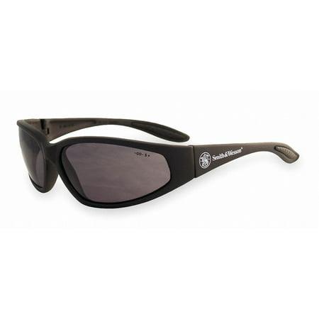 Smith & Wesson 38 Special Safety Eyewear, Black Frame, Smoke (Oakley M Frame Safety Glasses)