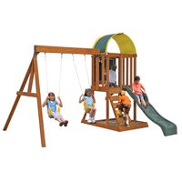 Deals on KidKraft Ainsley Wooden Swing Set