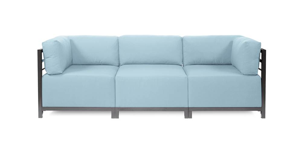 3-Pc Sectional in Seascape Breeze by Howard Elliott Collection