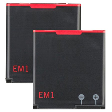 2x Replacement For Blackberry EM1 E-M1 Curve 9350 9360 9370 BAT-34413-003