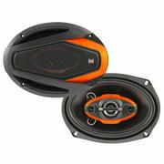 """Dual DWS694 200W 6"""" x 9"""" 4-Way Speakers"""