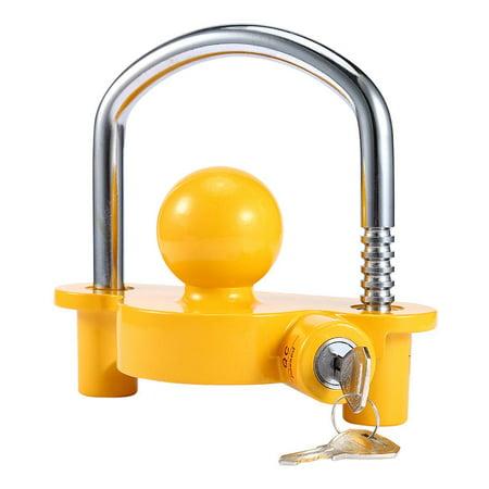 Lv. life Heavy Duty Universal Coupler Hitch Trailer Lock fits 1-7/8 , 2  and 2-5/16  Supe,Universal Coupler Hitch Trailer Lock