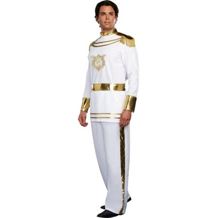 Morris Costume RL9474XL Fairytale Prince Mens Costume, Extra - Fairytale Couples Halloween Costumes