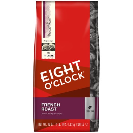 Eight O'Clock ® French Roast Whole Bean Coffee 36 oz. Bag