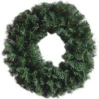 Darice Green Noble Fir Pine Wreath, Green, 24 inches
