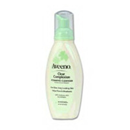 Aveeno Clear Complexion Foaming Cleanser   6 Oz  6 Pack