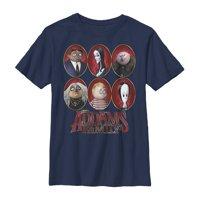 Addams Family Boys' Portrait Panels T-Shirt