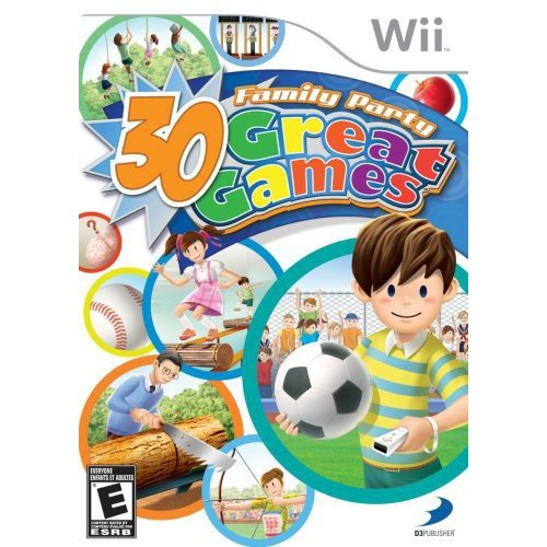 30 Great Family Party Games (Wii)