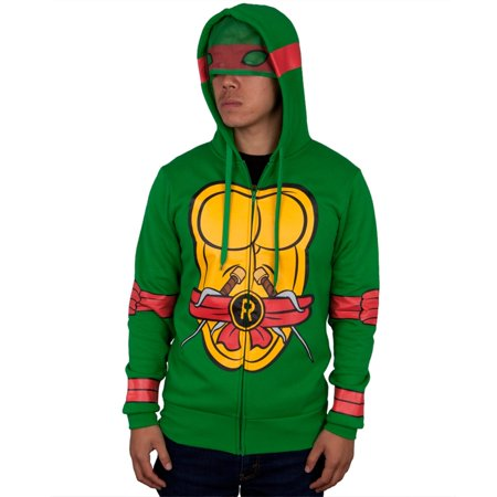 Ninja Zip (Teenage Mutant Ninja Turtles - I Am Raphael Costume Zip Hoodie )