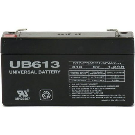 Ge Replacement Battery - 6V 1.3AH GE 600-1054-95R Simon XT Replacement Battery