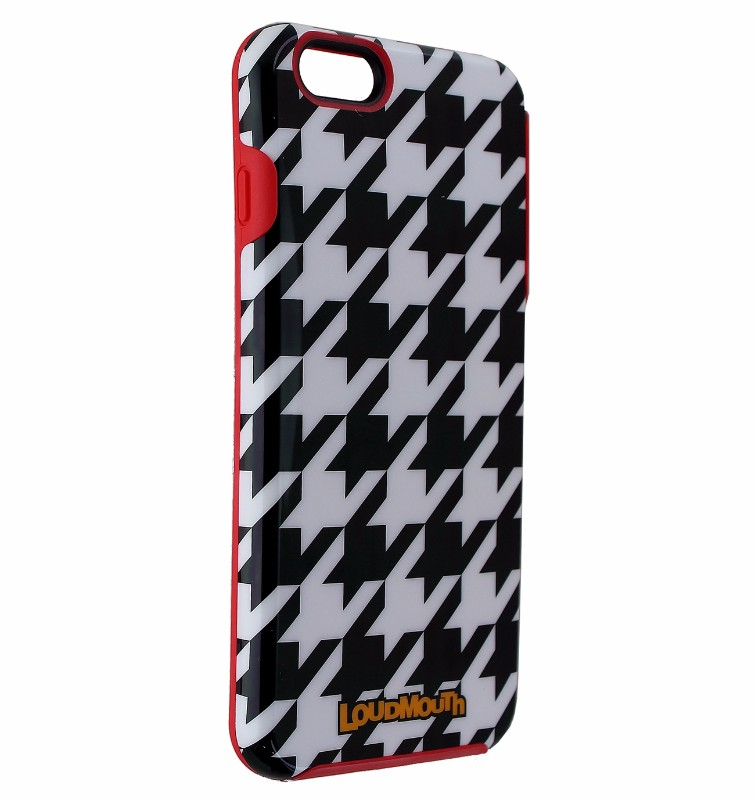 M-Edge Loudmouth Protective Case Cover for iPhone 7 6S 6 Plus - Black White Red