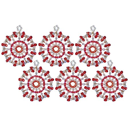 Design Works™ Red Starburst Ornament - Starburst Reds