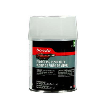 Bondo Fiberglass Resin Jelly, 00432ES, 1 Quart