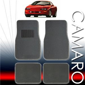 1992 1993 1994 1995 1996 1997 Chevy Camaro Floor Mats ALL FEES INCLUDED!