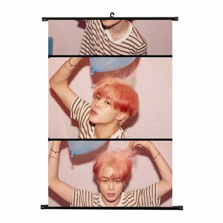 Photo Scroll Box - TURNTABLE LAB 1 Pcs Kpop BTS New Album Scroll Poster BTS MAP of Soul:Persona Photo Poster Hanging Painting Art Painting
