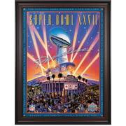 "1993 Cowboys vs Bills 36"" x 48"" Framed Canvas Super Bowl XXVII Program"