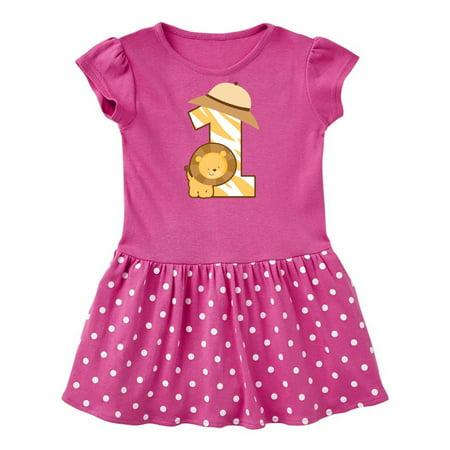 Jungle Dress For Kids (Safari 1st Birthday Jungle Animal 1 Year Old Infant)