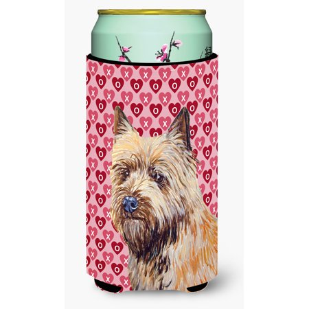 Cairn Terrier Hearts Love and Valentine's Day Portrait Ultra Beverage Insulators for slim cans LH9140MUK