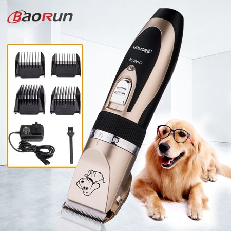 Professional Very Quiet Animal Pet Grooming Kit Cordless Cat Dog Hair Trimmer Clipper Shaver Set Pet Best