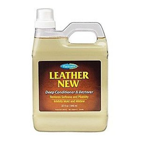 Leather New Deep Conditioner & Restorer 32oz Softness Pliability Saddles Boots