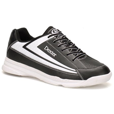 Dexter Mens Jack II Bowling Shoes- Black/White