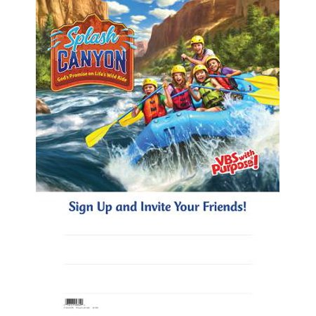 VBS-Splash Canyon-Big Splash Publicity Poster - Vbs Posters