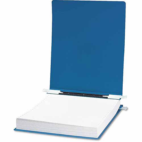 """ACCO Hanging Data Binder with ACCOHIDE Cover, 9-1/2"""" x 11"""", Blue"""