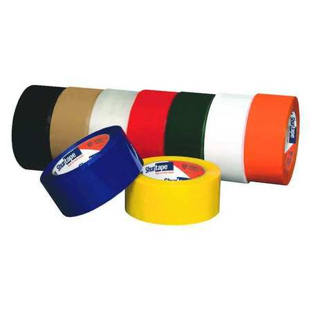 SHURTAPE HP 200 Carton Sealing Tape,Tan,48mm x 100m,PK36