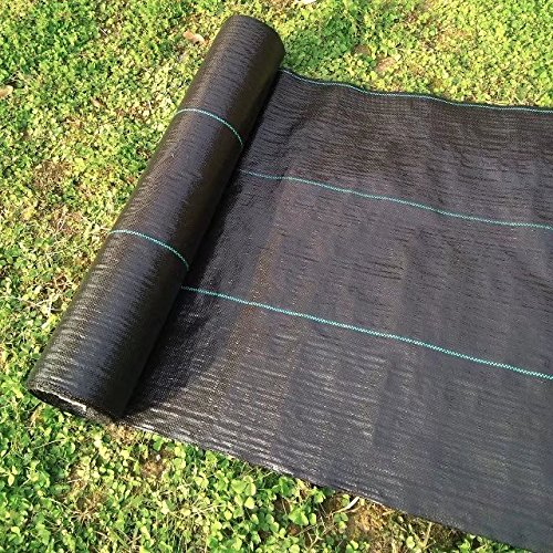 Product Image All Purpose Folded Agfabric Landscape Garden Mat 5x25ft Heavy  PP Woven Weed Barrier For Raised Bed