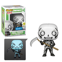 Funko POP! Games: Fortnite S3 - Skull Trooper (Glow) - Walmart Exclusive