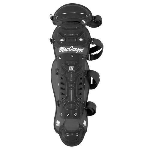 MacGregor B64 Double Knee Yth Leg Guard - Black