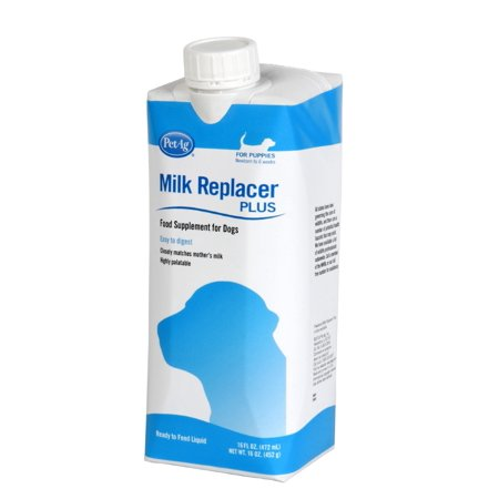 Pet Ag Milk Replacer Liquid For Puppies, 16 oz.