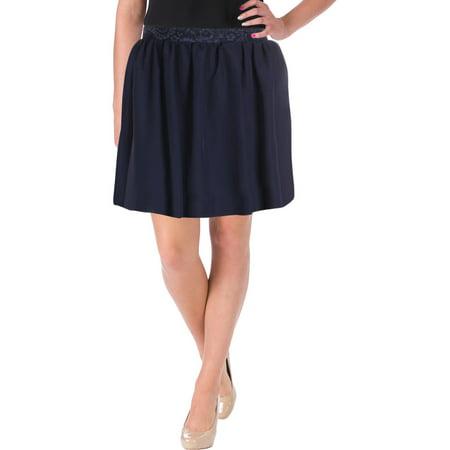 Speechless Womens Juniors Special Occasion Short Mini Skirt Navy 5 Speechless Halter Skirt