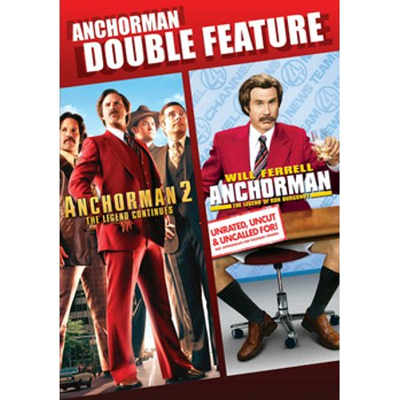 Anchorman / Anchorman 2 (DVD) (Anchorman Scotch)