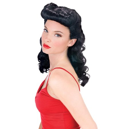 Cheap Fun Wigs (Fun World Burlesque Pin Up Halloween)