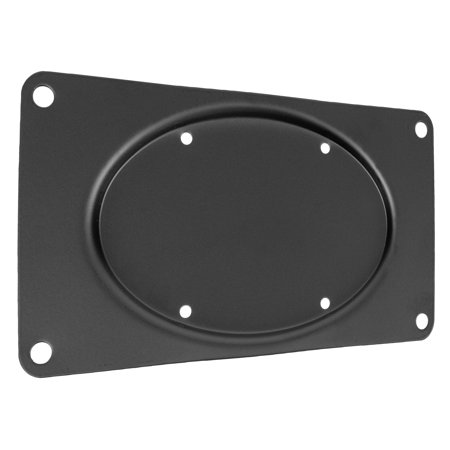"""VIVO Steel VESA Monitor Mount Adapter Plate for Monitors up to 43""""   Conversion Kit for VESA 200x100 (MOUNT-AD2X1)"""