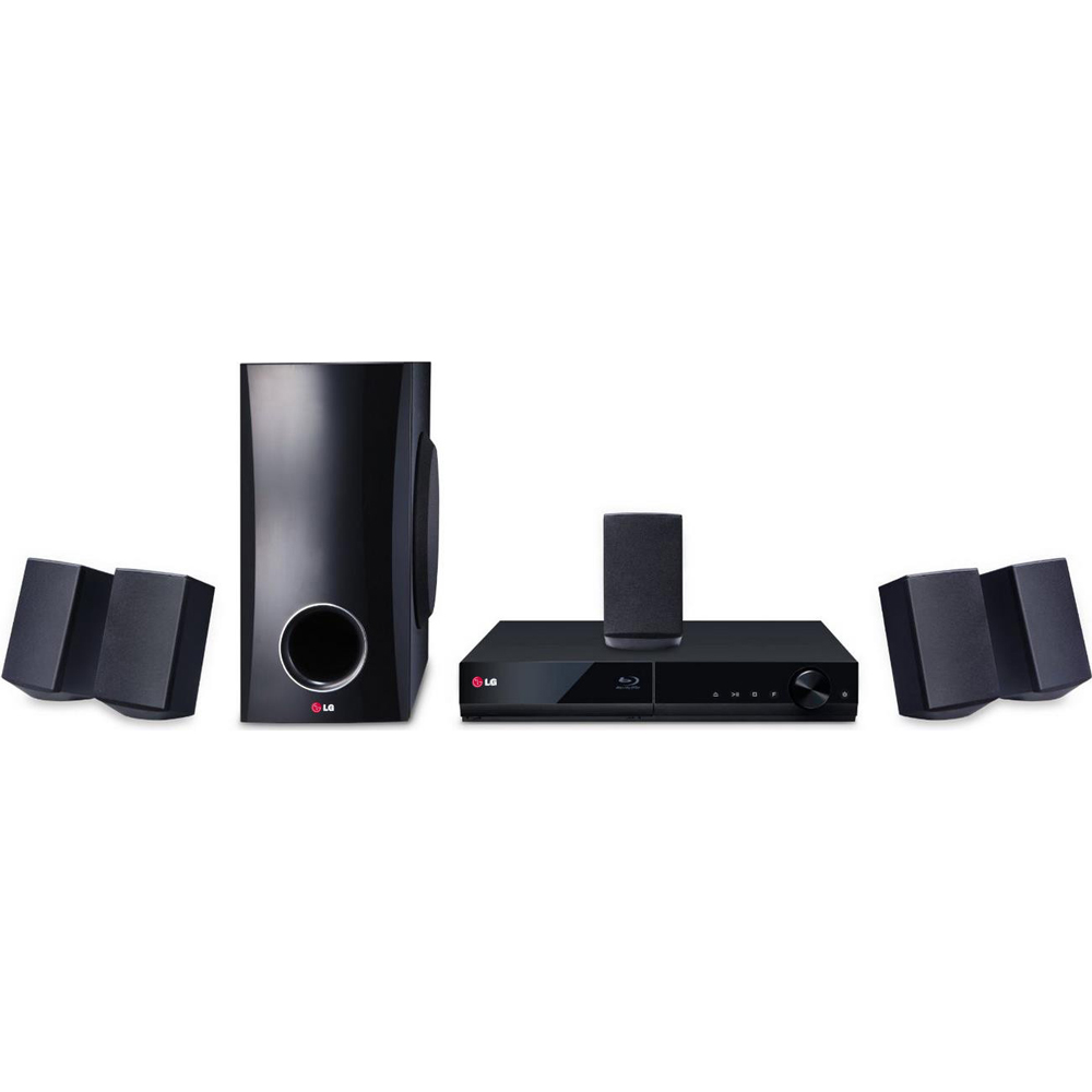 LG 5.1 Channel 500W Smart 3D Blu-ray Home Theater System (BH5140S ...