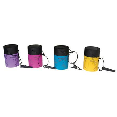 Fiesta Hanging Umbrella Solar Lanterns - Set of 4