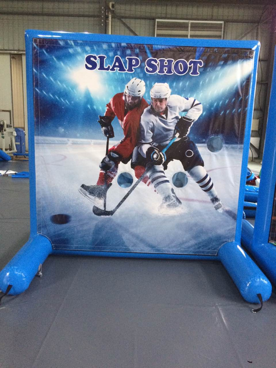 Hockey Panel for Sealed Air Frame Game by Pogo Bounce House