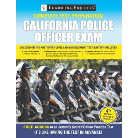California Police Officer Exam - eBook