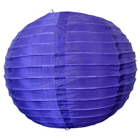 Asian Import Store Distribution 10 in. Purple Nylon Lantern ()