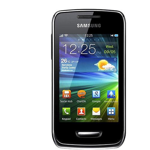 Samsung Wave Y S5380 GSM Phone, Sand Silver (Unlocked)