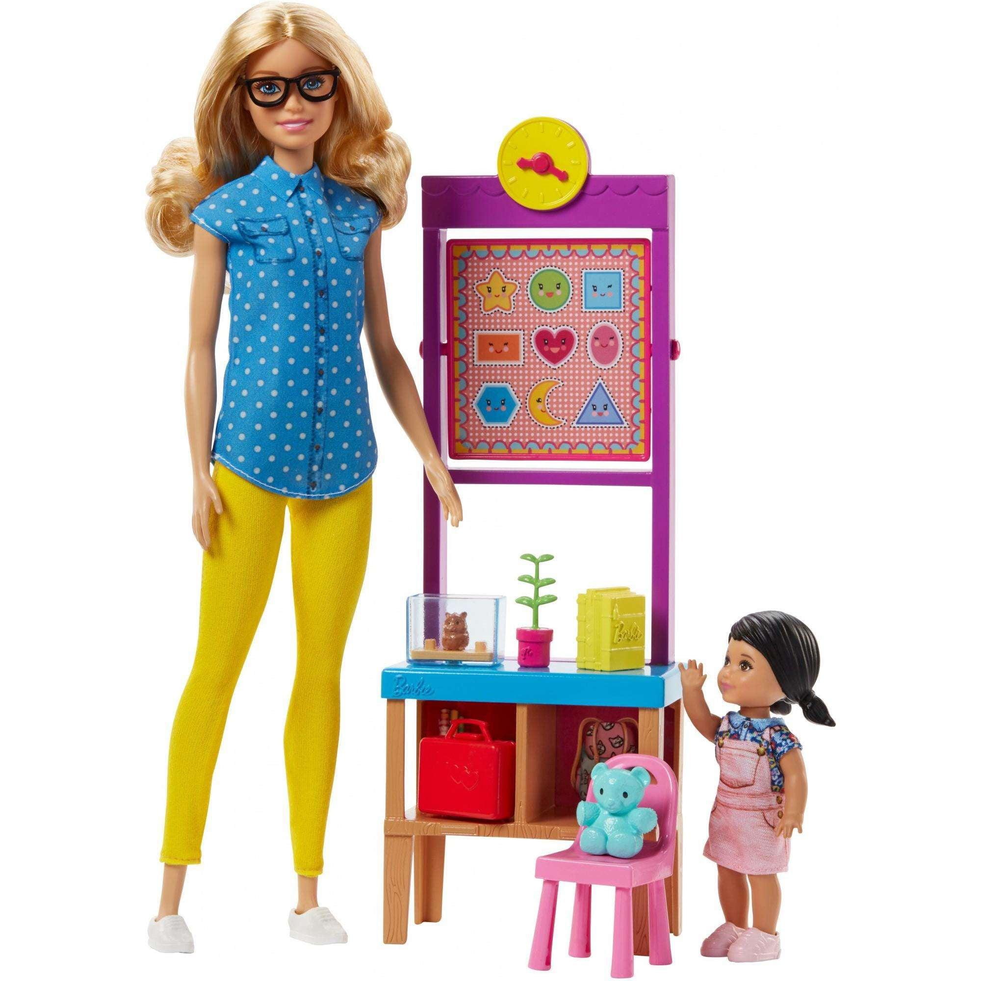 Barbie Careers Teacher Playset and Doll
