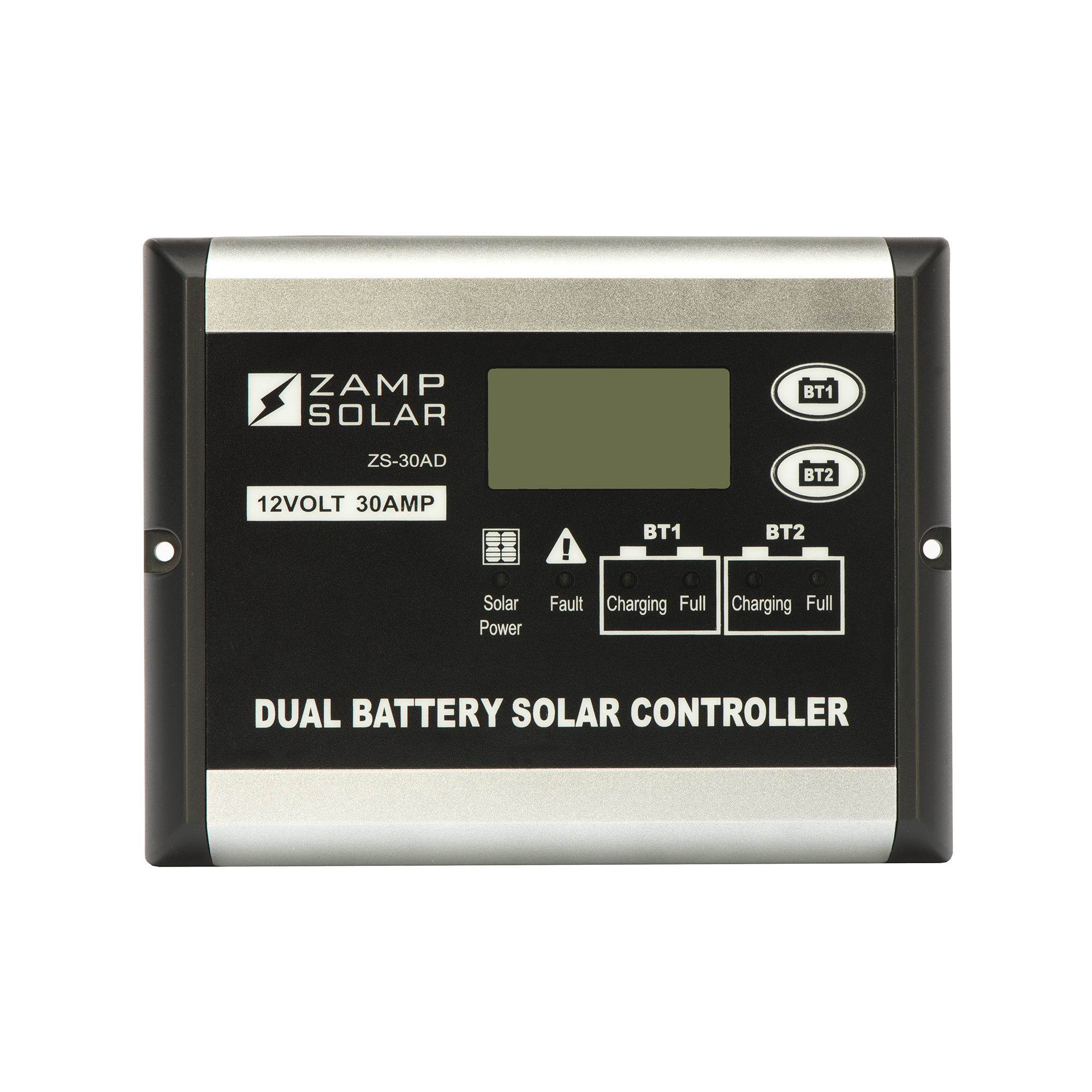 Zamp Solar ZS-30AD Battery Charger Controller  Use With Zamp Solar 12 Volt Batteries; Digital Solar Controller; 500 Watts; 30 Ampere - image 1 of 1