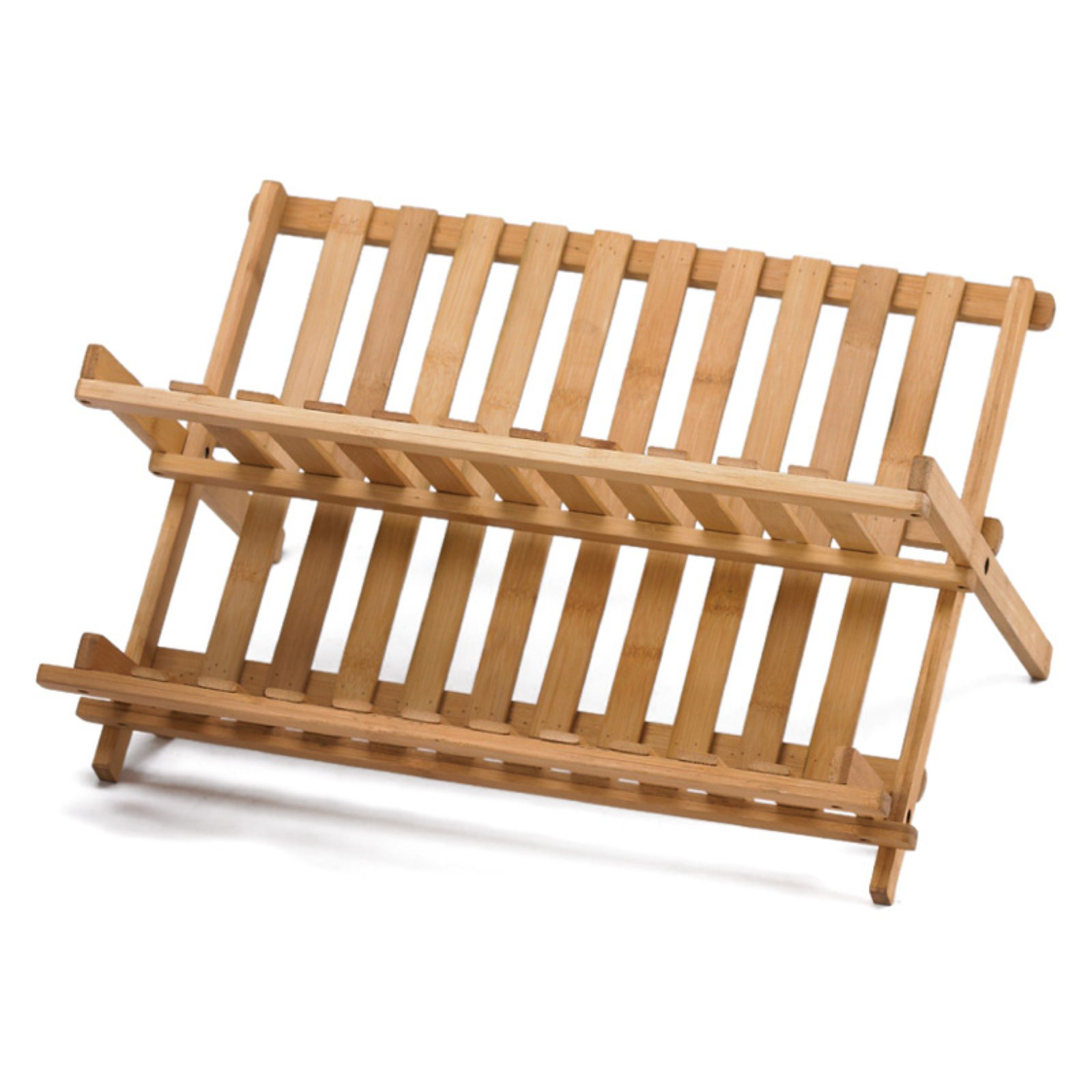 Creative Home Bamboo Folding Dish Rack