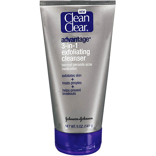 CLEAN & CLEAR(R) Cleansers advantage(R) 3-in-1 Exfoliating Cleanser 5 oz.