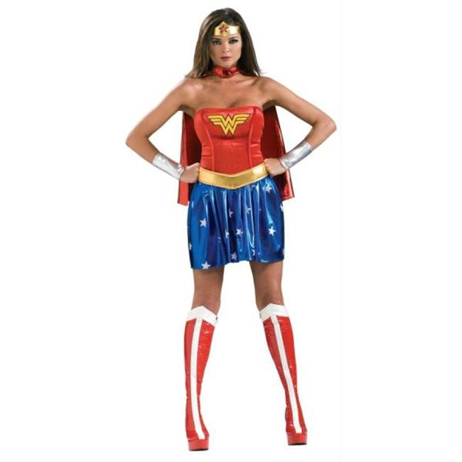 MorrisCostumes RU888439MD Wonder Woman Adult Medium, 10-12