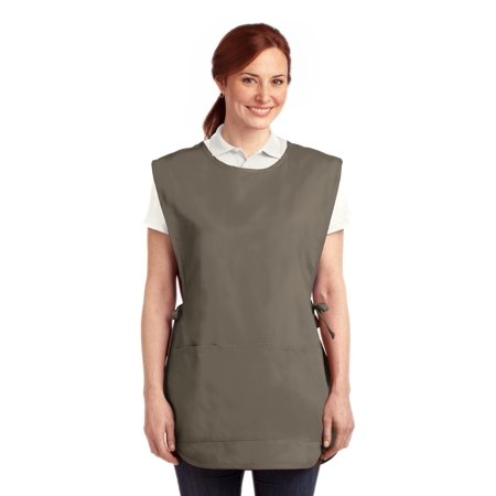 Port Authority® Easy Care Cobbler Apron With Stain Release. A705 Khaki S/M - image 1 of 1