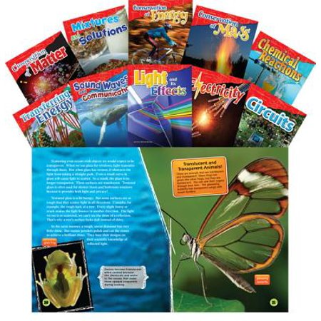 Let's Explore Physical Science Grades 4-5, 10-Book Set (Informational Text : Exploring Science)