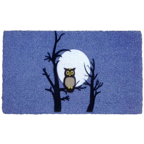 Imports Decor Night Owl Doormat